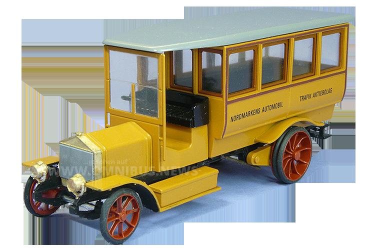 Erster Scania-Bus