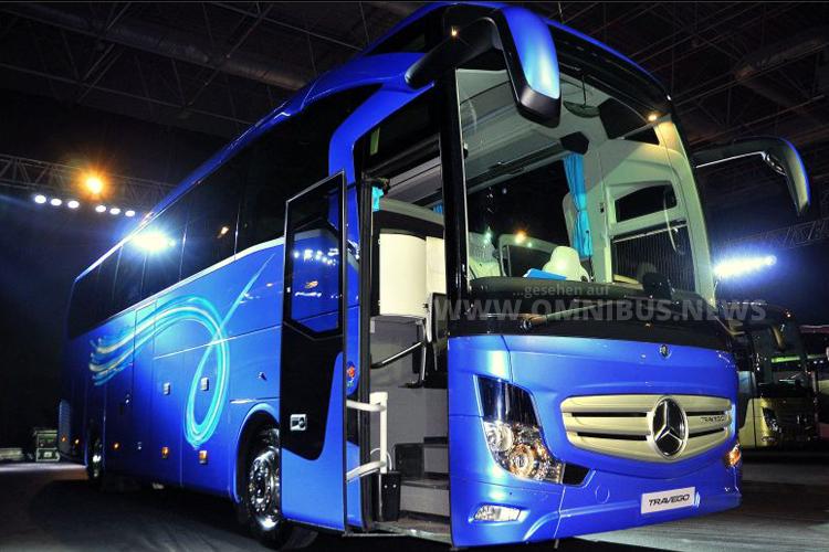Neu für den türkischen Markt: Der Travego SHD von Mercedes-Benz.