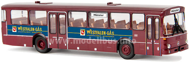 50621 Mercedes-Benz O 307, DB / Westfalen-Gas, TD