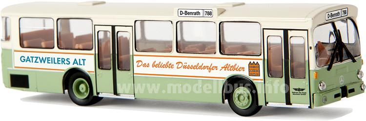 50733 Mercedes-Benz O 305 Stadtbus, Monheim, Gatzweilers Alt