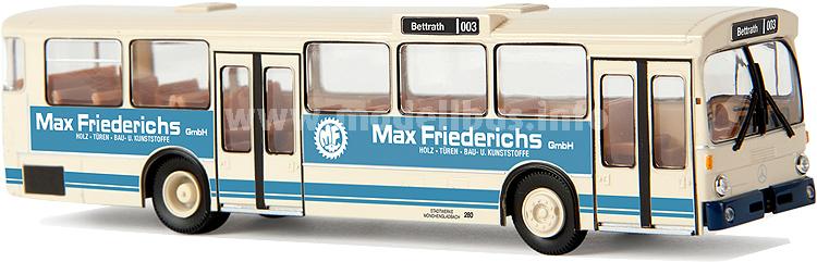 50734 Mercedes-Benz O 305 Stadtbus, Mönchengladbach, Max Friederichs