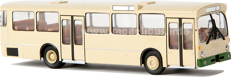 50735 Mercedes-Benz O 305 Stadtbus, Wuppertal, beige