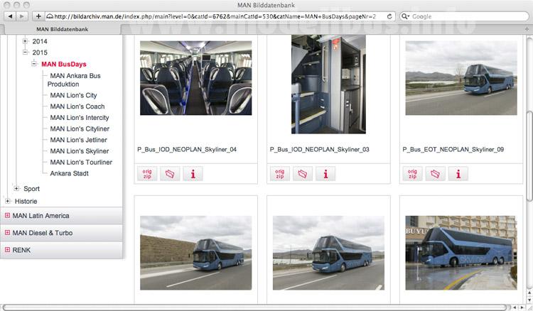 Der MAN Lions Skyliner - so heißt der Doppeldecker jetzt ganz offiziell in der MAN-Bilddatenbank.