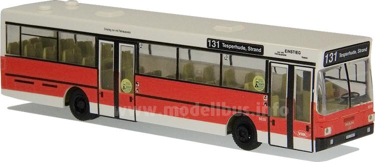 Ein Bayer in Hamburg: Nur jeweils ein MAN SL 202 war bei VHH und Hochbahn imEinsatz.