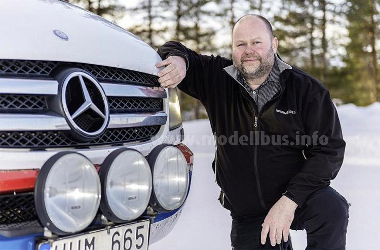 Patrik Flinkfeldt ist stolz auf seinen Sprinter-Millionär.