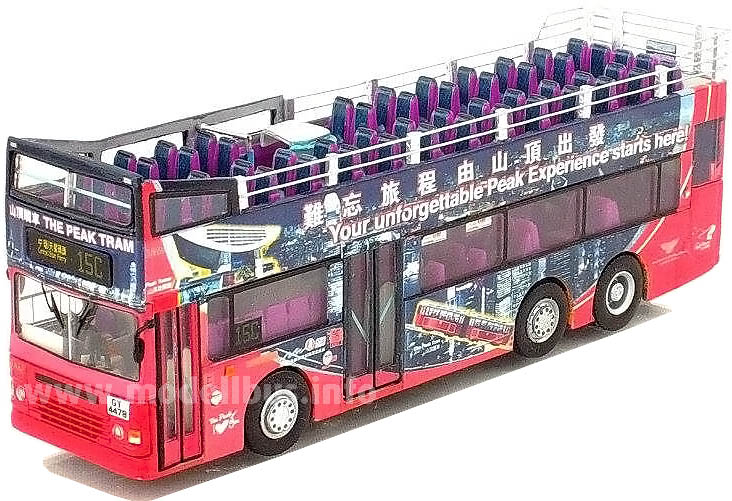Handgefertigtes Unikat von Dream Bus Model.