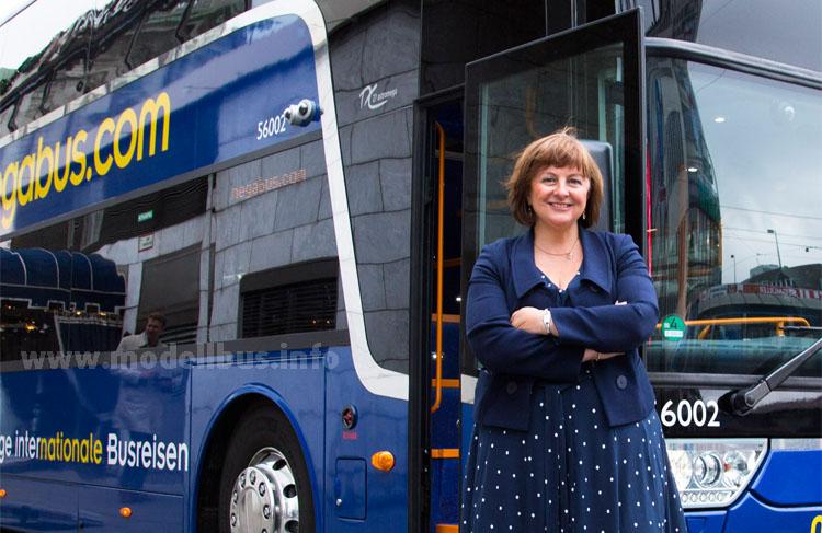 Elisabeth Esnouf ist bei Megabus für die Entwicklung zuständig - in Deutschland will der Fernbusanbieter weiter expandieren.