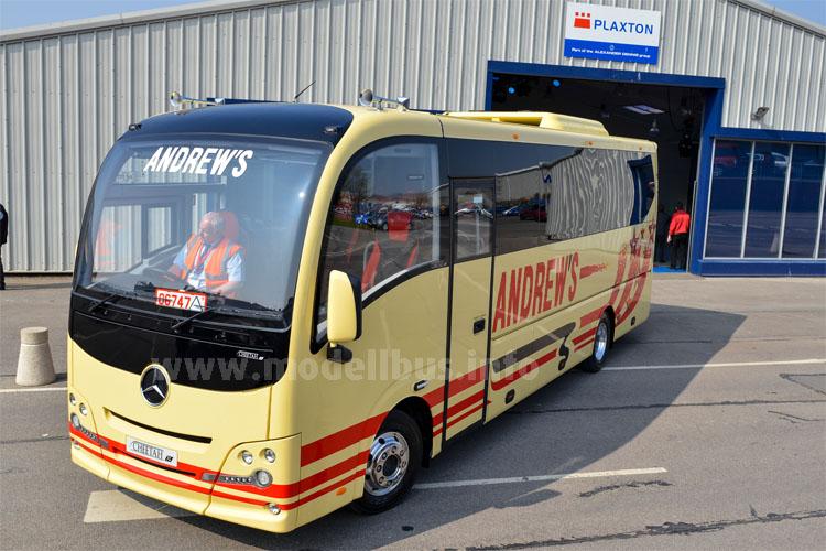 Ein neuer Stern am Midibus-Himmel: Der Plaxton Cheetah XL.