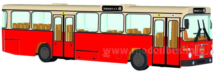 Im Sommer lieferbar: Der MAN SL 200 von Rietze.