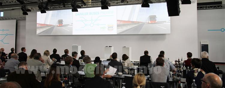 Daimler Buses-UITP-Vorschau Ende April in Mannheim.