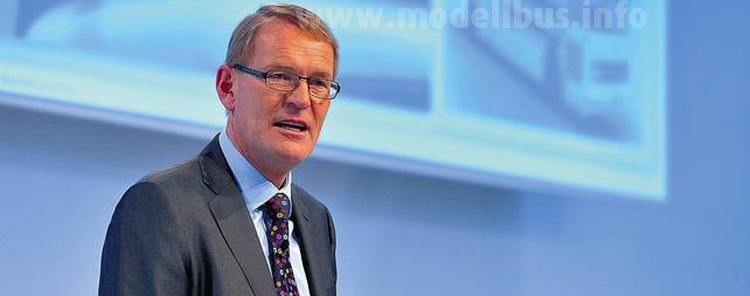 Hartmut Schick, Daimler Buses: Diesel trifft Elektroantrieb.