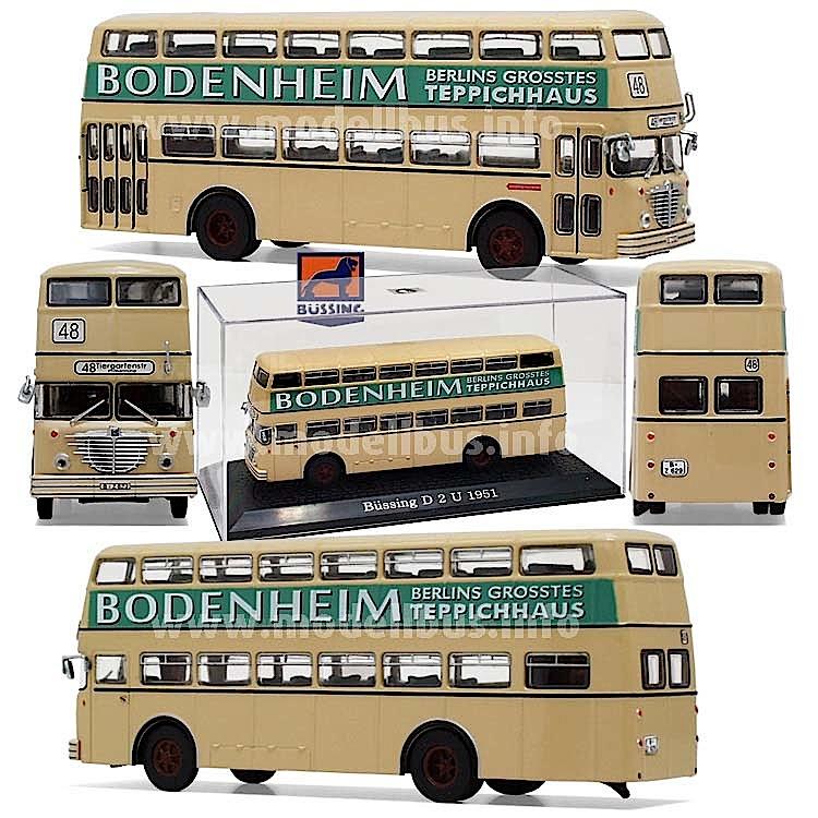 Legendär: Der Berliner Trampelwagen, der Büssing D2U.