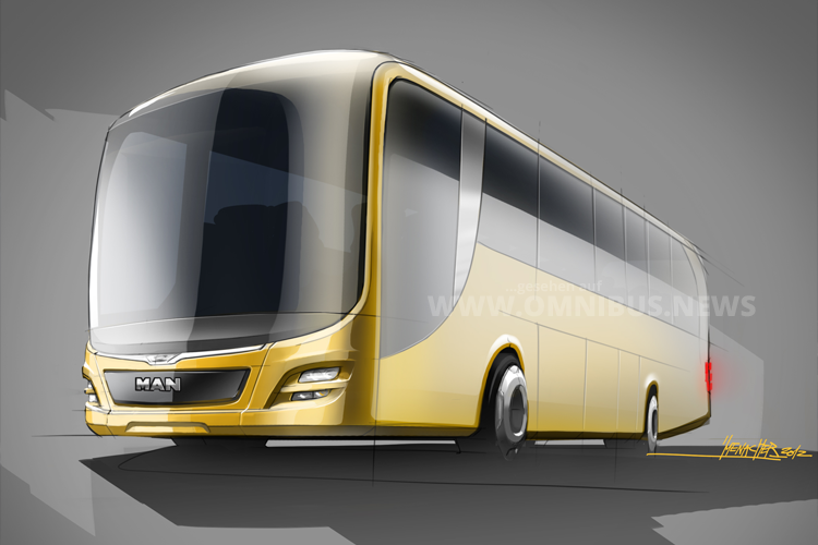 IF Gold Award 2016 für das Design des MAN Lion's Intercity. Foto: MAN