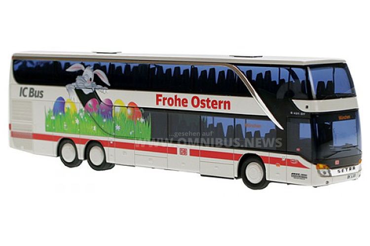 Sondermodell zu Ostern: Der Bahnshop bietet den S 431 DT mit Oster-Motiv an. Foto: Bahnshop