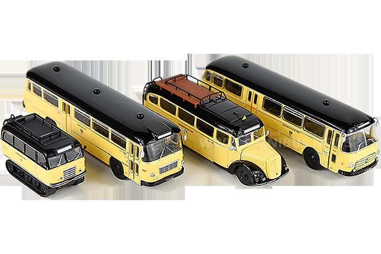 Gleich vier Modellbusneuheiten kündigt Starline Models für ACC an. Foto: Wachtel