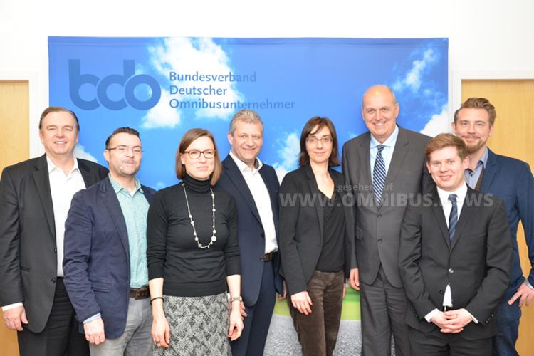 Die Mitglieder der IG Fernbus unter dem Dach des Bundesverbandes Deutscher Omnibusunternehmer (bdo). Foto: bdo