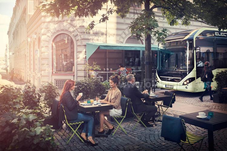 Volvo liefert elf Elektrobusse ins belgische Namur. Foto: Volvo