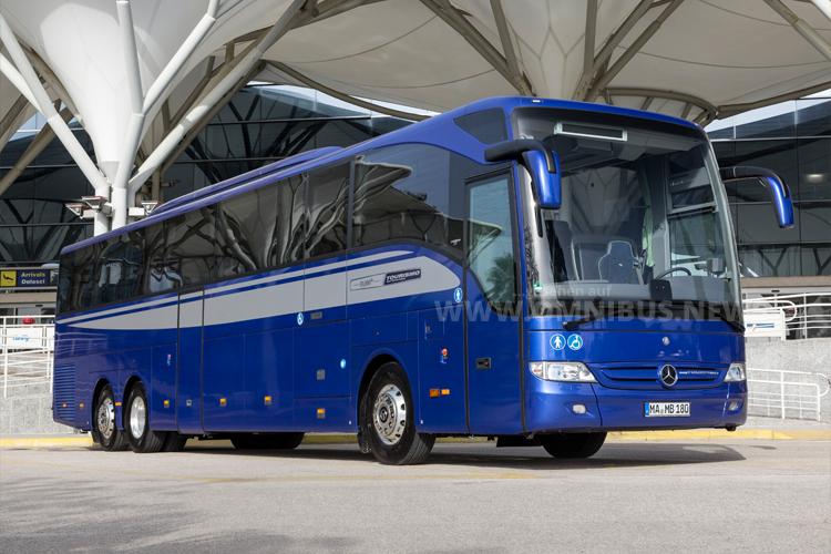 Der Tourismo L im Jahr 2016. Foto: Daimler