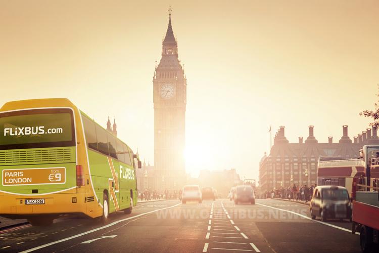 Mit FlixBus auf die Insel: Das grüne Fernbus-Netz wird um Großbritannien erweitert. Foto: FlixBus
