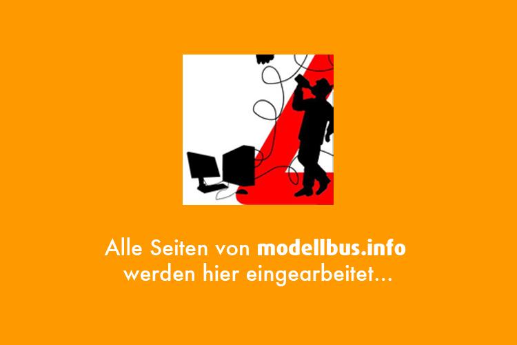 Modelle und Vorbild von modellbus.info…