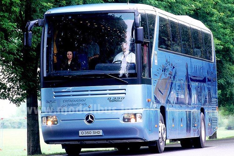 1998 kam der Superhochdecker SHD, der zuvor dem türkischen Markt vorbehalten war. Foto: Daimler