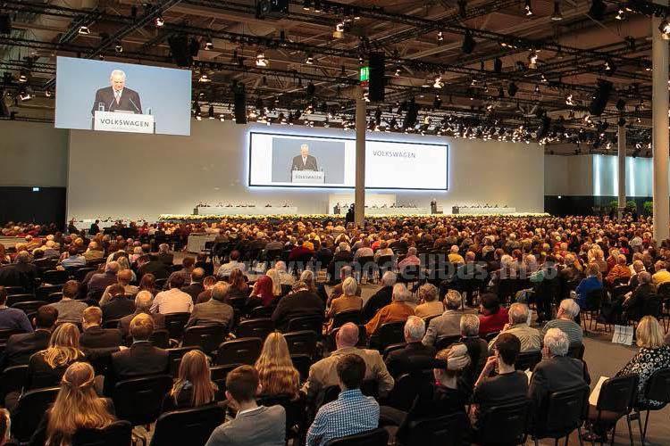 Hauptversammlung der Volkswagen AG am 4. Mai 2015.