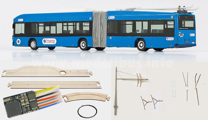 Digi-Trolley ist mit dem Faller Car System kompatibel.