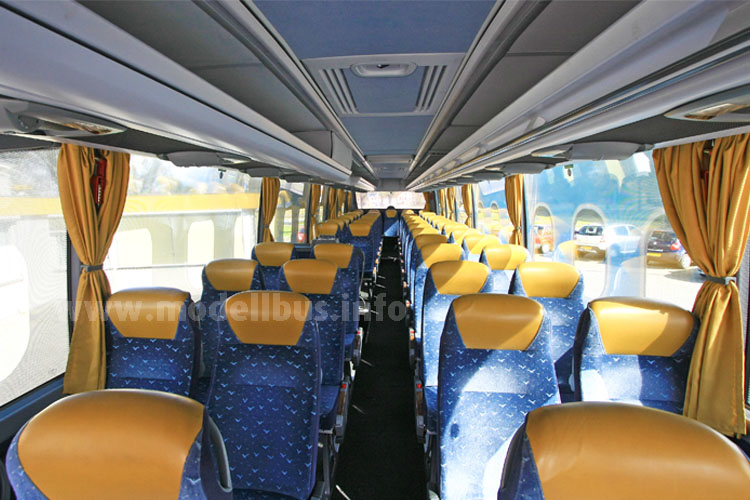 ... die vom Fahrgastraum einen perfekten Ausblick erlauben.