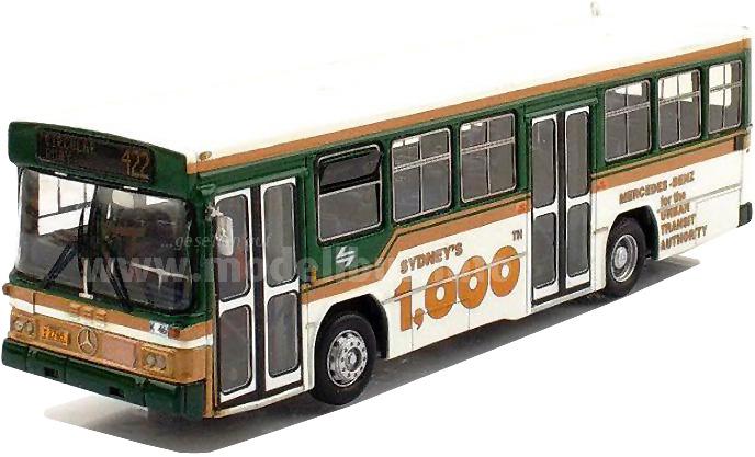 In Downunder ein Klassiker: Fahrzeuge und Chassis des Mercedes-Benz O 305.