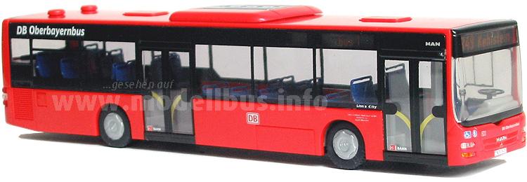 Auf Deutschlands steilster Buslinie ist auch ein MAN Lions City im Einsatz.