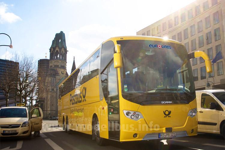 Postbus weitet das Angebot europaweit aus...