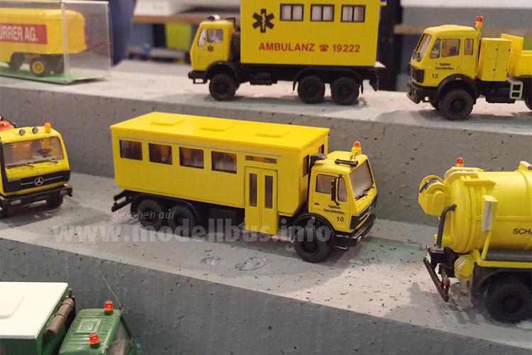 ...bis zu Sonderfahrzeugen für Baustellen. Mehr zu den Modellbussen aus der Kleinserie direkt bei Karl-Heinz Müller Modellbau in Siegen bzw. über seine Website.