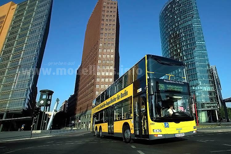 Alle Busse der BVG waren während der Streikwoche gut besetzt.