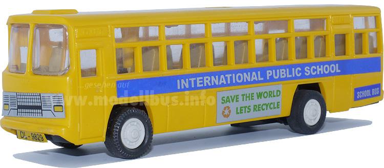 Indische Modellbusse haben indische Vorbilder: Hier ein Ashok Leyland.