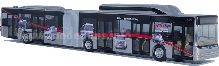 Zum Jubiläum einen neuen Modellbus: Der MAN Lions City GL 5-Türer im Maßstab 1/87.
