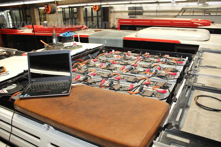 Do it yourself: Der Umbau erfolgte in der Werkstatt der ASEAG.