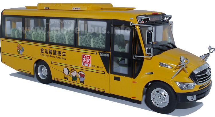 In China ein Besteseller: Der Schulbus XMQ 6900 BSD von King Long.