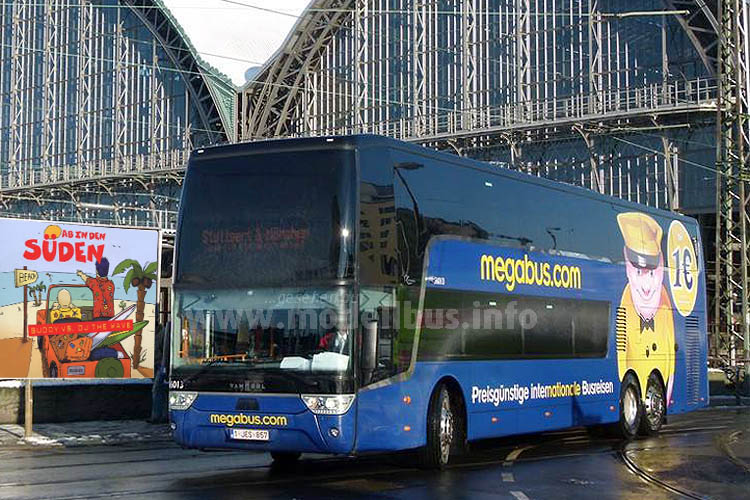 Auch Megabus expandiert: Seit gestern geht es ab in den Süden!