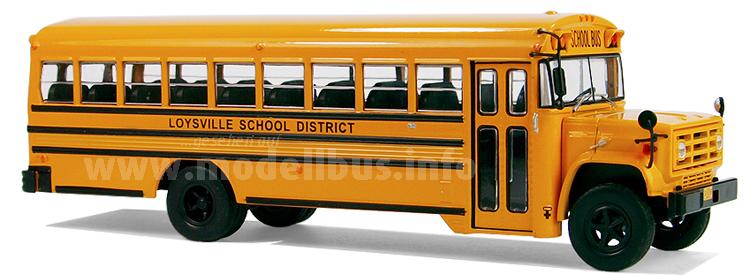 Der Schulbus-Klassiker: GMC S 6000 mit BlueBird-Aufbau.