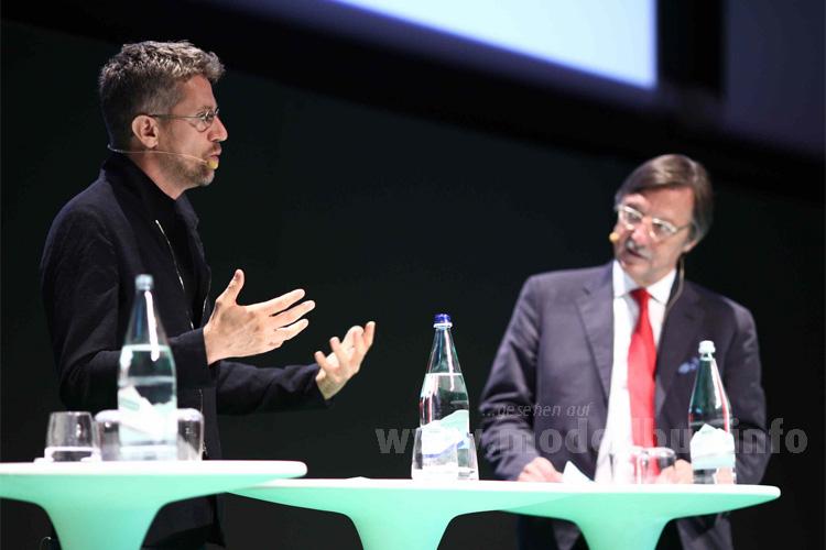 Carlo Ratti (links) hielt die Keynote auf dem UITP-Kongress 2015.
