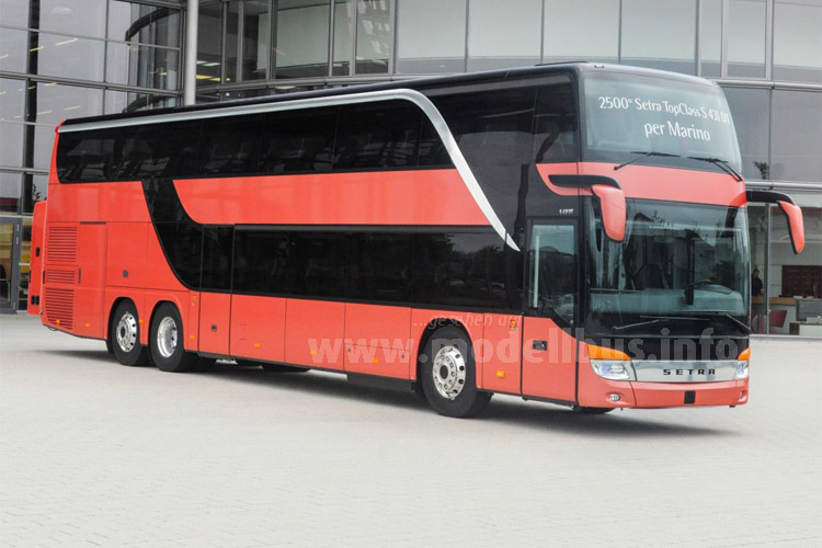 Doppeltes Jubiläum: Der 2.500ste Doppeldecker ist auch der 250. Bus dieser Baureihe mit Euro VI-Motor.