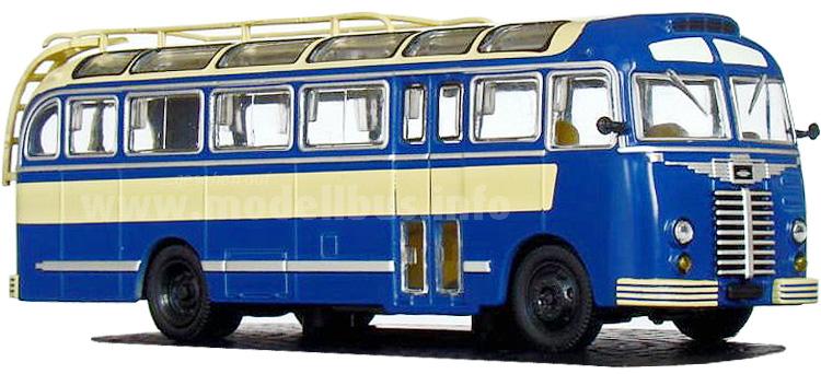 Der Ikarus 30 wurde der Welt 1951 in Genf vorgestellt.