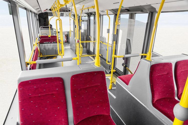 Bis zu 189 Fahrgäste - kein Gelenkomnibus in Europa bietet mehr.