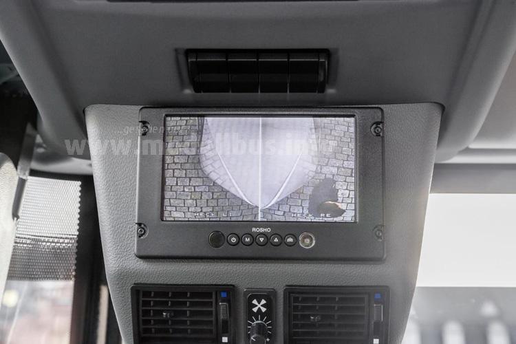 Alles im Blick: Monitor für den Fahrer