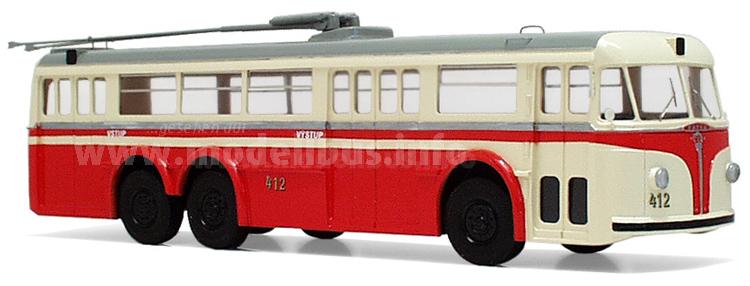 Fuhr im Prager Trolleybus-System: Der Tatra T 400