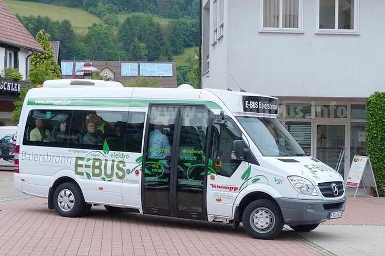 Elektromobilität funktioniert auch auf dem Land, zumindest in Baiersbronn.