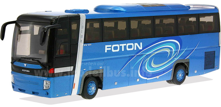 An europäischen Standards orientiert: Der Beiqi Foton Reisebus Typ BJ6125.