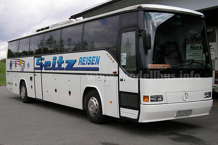 Der erste in der Türkei gebaute Mercedes-Benz Reisebus, der auch den Markt in Westeuropa erobern sollte: Der O 340.