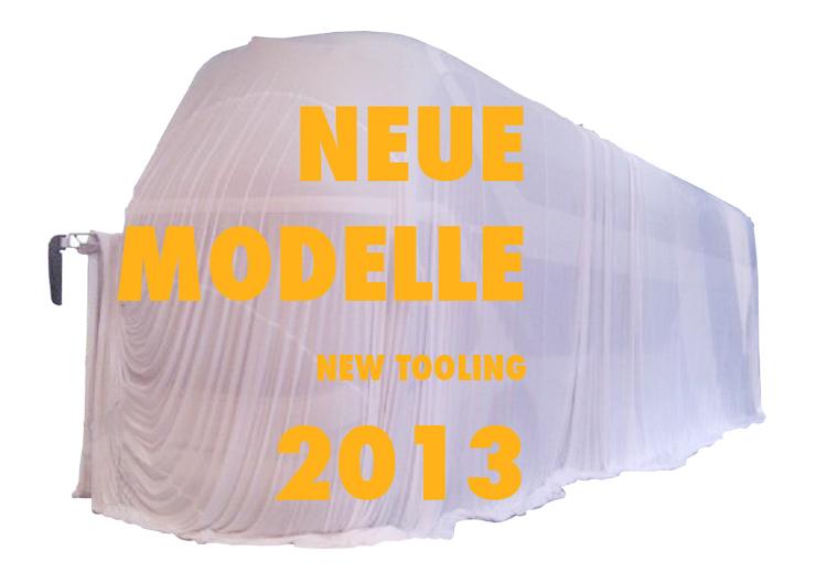 Neue Modelle 2013
