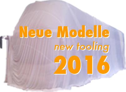 Neue Modelle 2016